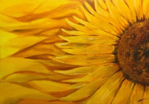 Sunflower, Diversity, Floral paintings