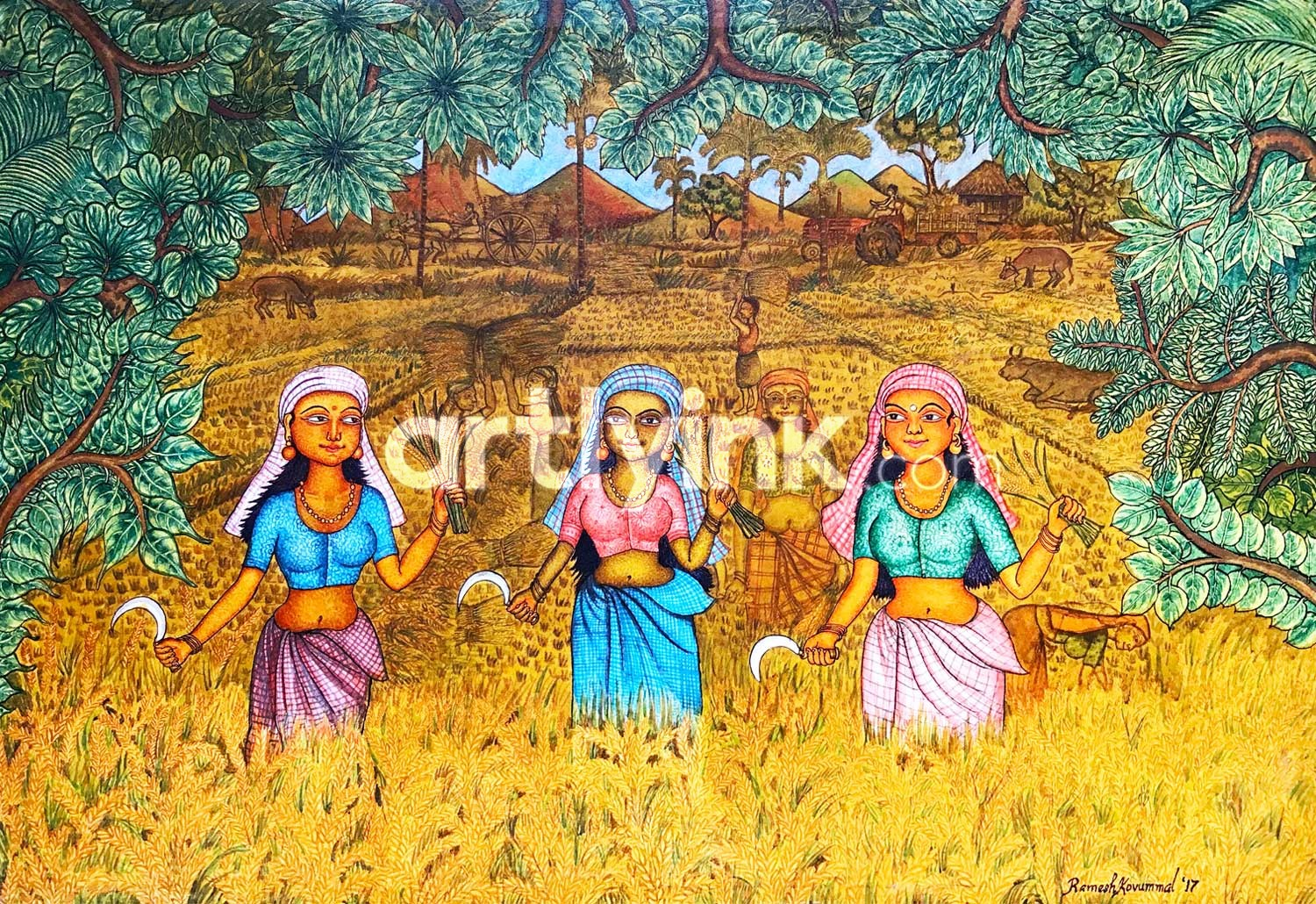 Nelkrishi Mural Paintings
