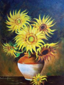 Sunflower Oil Paintings Buy Online